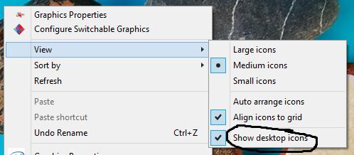 show-desktop-cons