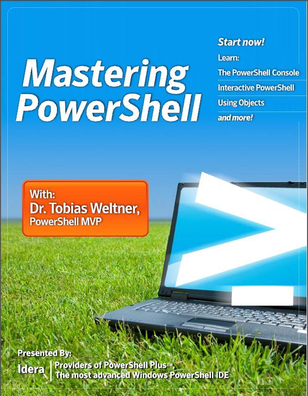 Powershell: Collection of FREE e-books for download
