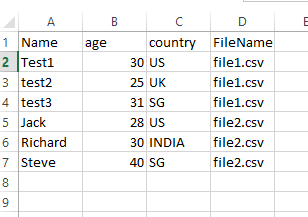 how to turn csv column into string