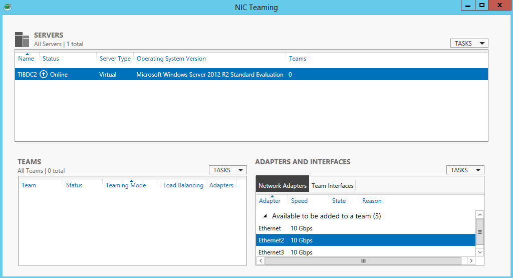 NIC Teaming(LBFO) Guide for Windows Server 2012 R2