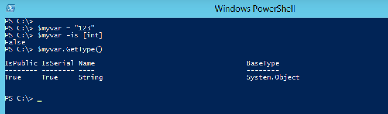 Check if a string contains numbers in it using PowerShell