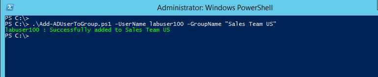 PowerShell: Add Users to Group in Active Directory