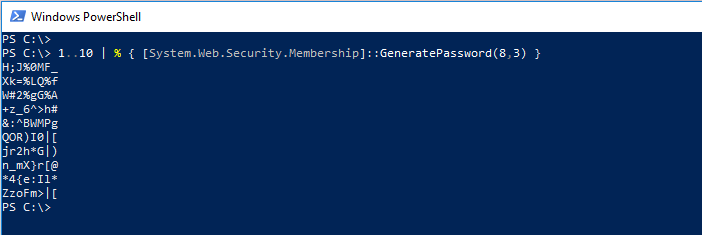 powershell get remote computer name from serial number